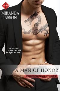 A Man of Honor - Miranda Liasso - Entangled Publishing - Indulge